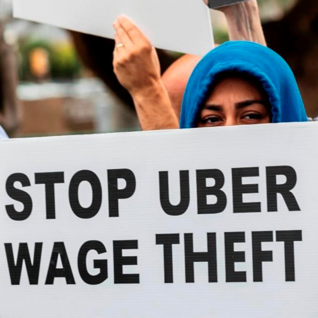 Stop Uber Wage Theft